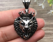 King Lion Stainless Steel Pendant-004