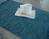 Blue Handwoven Cotton Placemats