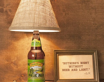 Sierra Nevada, Table Lamp, Beer Bottle, 24oz, Free US Shipping