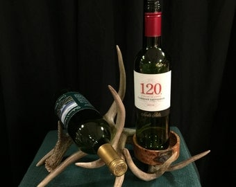 Blended Antler Wine Rack