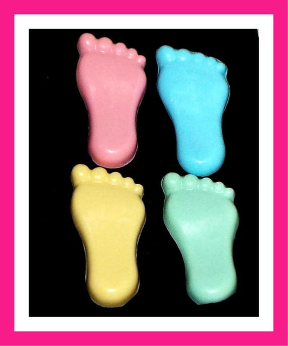 24 Baby Feet Soap,Baby Shower Favors,Personalized Baby Shower Button Pin,Its a Girl,Its a Boy,Kid Soap,Birthday Party Favors,Baby Foot Favor