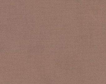 Taupe, Kona Cotton, Robert Kaufman Fabric, 1/2 Yard