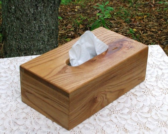 The BlackWater TBC -  American Elm Tissue Box Cover