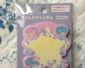 NEW Sticky paper Marker Sanrio Little Twin Stars