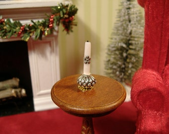 Dollhouse Miniature Candle