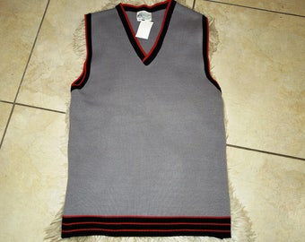 1960s Vintage Sweater Vest, Small