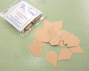 Jewels...1/2 inch jewel papers...100 pieces, laser cut