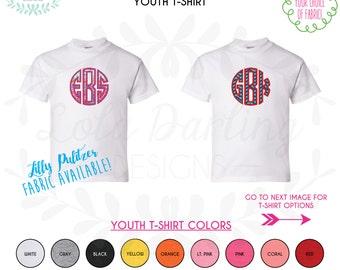 Monogram Applique Youth T-Shirt