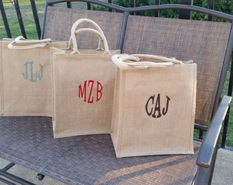 Employes Gifts, Bridal Party, Personalized Bag, Gift Wrapped, 6 Bottles Bag