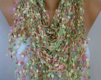 Crochet Scarf,Winter scarf,Christmas Gift,Gift Ideas For Her,Women Fashion Accessories