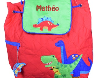 Stephen Joseph personalised DinosaurToddler Backpack