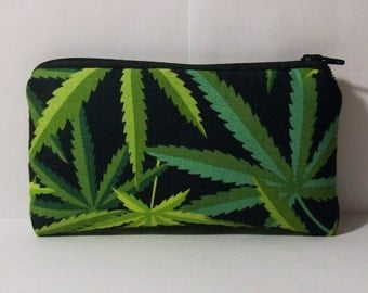"Pipe Pouch, Cannabis Bag, Glass Pipe Cozy, Padded Pipe Pouch, Marijuana, Pipe Bag, 420, Pothead, Smoke Bag, Weed, Stoner Gift - 5.5"" SMALL"