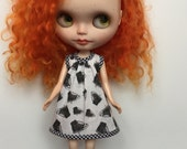 Rosiee Gelutie Dress in Blythe Con Brooklyn Fabric