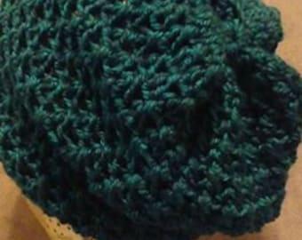 Sellwood Spiral Crochet Hat Pattern PDF