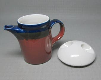 Ben Seibel Mikasa FIRE SONG creamer ( plus a sugar lid )