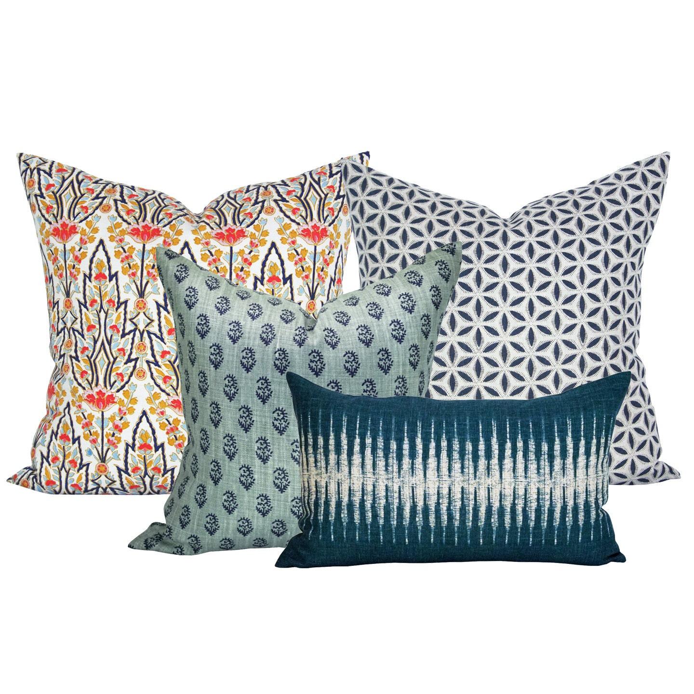 Spark Modern Pillows Etsy : Spark Modern Curated Collection 11 Marmar Kashmir Hanami