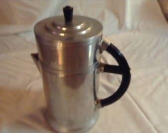 Aluminum Wear Ever Coffee Pot 4 Piece Set