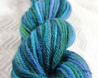 SMOKY MOUNTAIN-- Peruvian Highland Wool/Superfine Alpaca Bulky Yarn- 110 yards