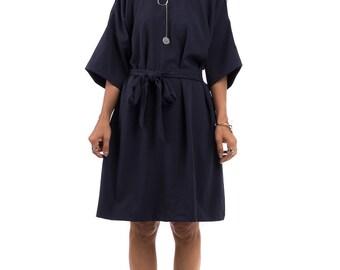 Short Dress, Navy Blue dress,  Wedding guest dress : Smart Chic Collection 2