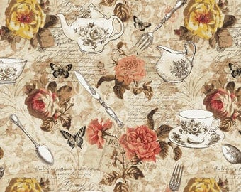 Afternoon Tea - Afternoon Tea by Whistler Studios from Windham Fabrics