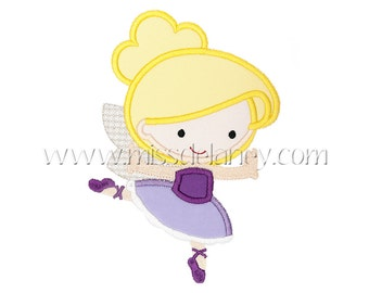Sugar Plum Fairy Applique Design