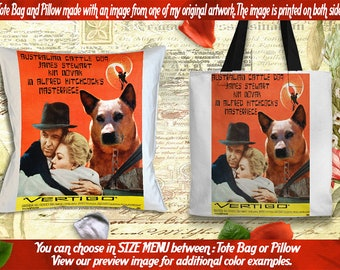 Tote Bag Pillow Movie