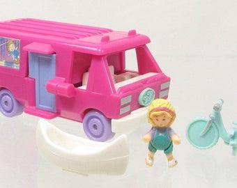 1994 Vintage Polly Pocket Home on the Go (RV) Bluebird Toys (39478)