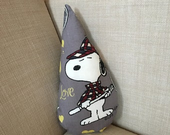 Mini snoopy raindrop cushion // ready to ship