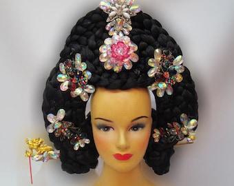 Chinese China Geisha Japanese Headdress
