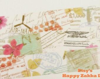 Stamp - Japanese Washi Masking Tape - Juno - 7.6 Yard - No Discount