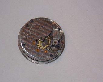 Antique 34mm  Pocket Watch Movement