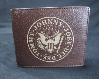 Premium Leather RAMONES Wallet