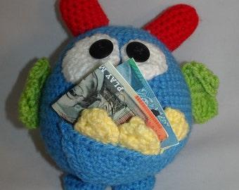 Crochet Tooth Fairy Monster