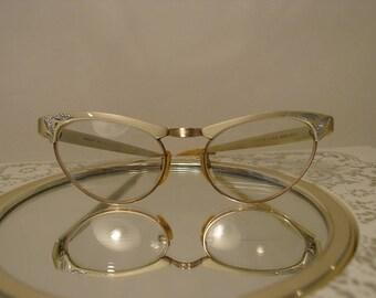 RESERVED For Dianna - Art Deco Artcraft Cat Eye Glasses