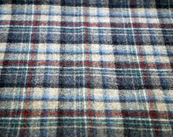 Vintage Pendelton Scarf Plaid Scarf Virgin Wool Made in USA