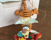 Vintage Tigger Christmas Ornament