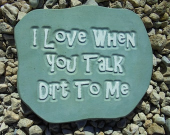 Garden, Engraved Stone, Shipping Included