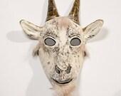 masquerade goat paper mask