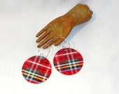 RESERVED LISTING * Scottish Shortbread Tin Earrings for You Know Who