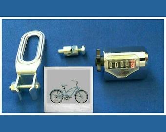 Vintage Analog Bicycle Odometer