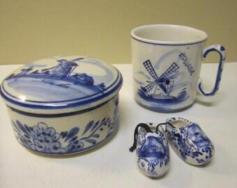 Vintage Delft Set