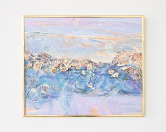 Original Abstract Impasto Painting
