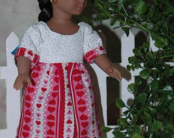 American, made, girl, 6.5 inch, doll, dress, mini doll