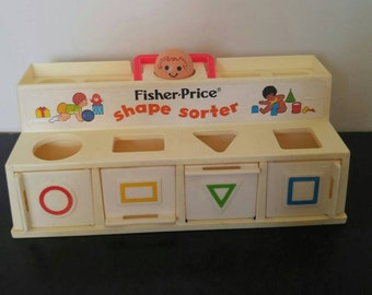 Vintage Fisher Price Shadow Sorter - 1974