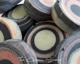 Cosmic Detox Vegan Soap - Unscented, Acne, Eczema, Psoriasis, Facial, Face, Natural, Handcrafted, Palm Free