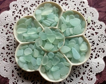 FREE Shipping 6 oz. Sea Foam Pale Blue Sea Glass  RSF-F8-A