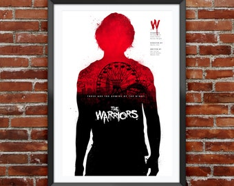 The Warriors Movie Poster 12X18""