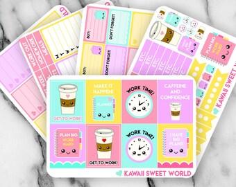 Planner Girl Sticker Set | Erin Condren Planner Stickers