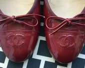 Reserved for GFStorm Vintage Chanel classic ballet Flats size 39 made in italy guaranteed authentic