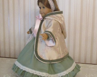 Victorian 1850's collection of 18 inch doll outfits